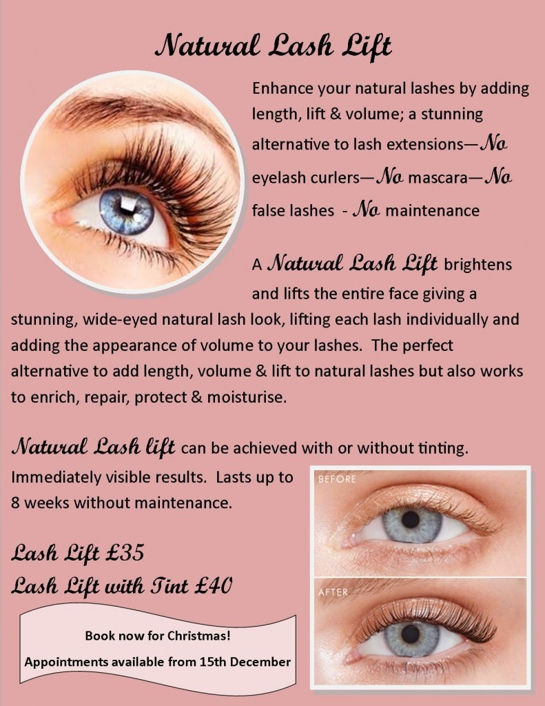 Natural Lash Lift